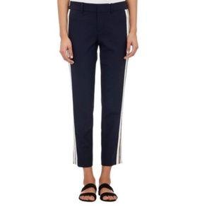 Vince Stripe Tuxedo Crops Pants New 6